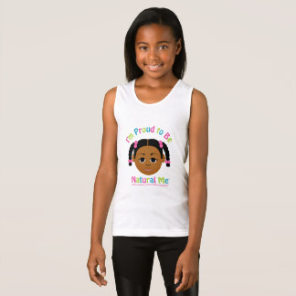 I'm Proud to Be Natural Me! Tank Top