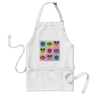 I'm Proud to Be Natural Me! Tile Gifts! Adult Apron