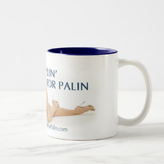 I'm Pullin' For Palin Mug