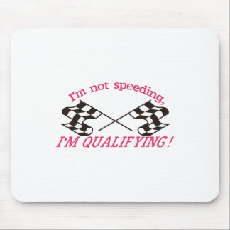Im Qualifying Mouse Pad
