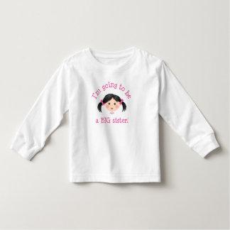 Im que va a ser una hermana grande - chica t shirts