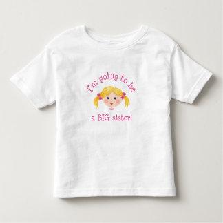 Im que va a ser una hermana grande - pelo rubio tee shirt