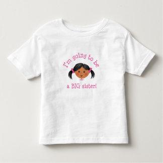 Im que va a ser una hermana grande - piel de la t-shirts