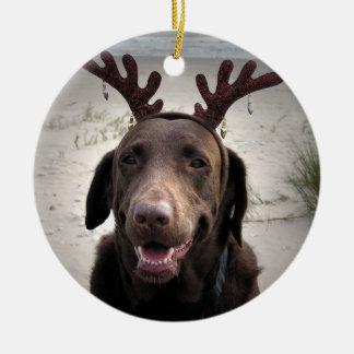 I'm ready ceramic ornament