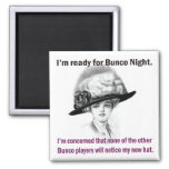 i'm ready for Bunco night. Magnets