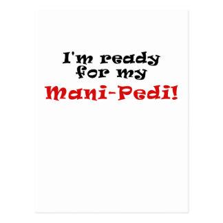Im Ready for my Mani Pedi Postcard