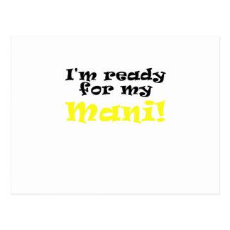 Im Ready for my Mani Postcard