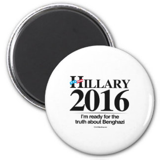 I'm ready for the truth about Benghazi Magnet