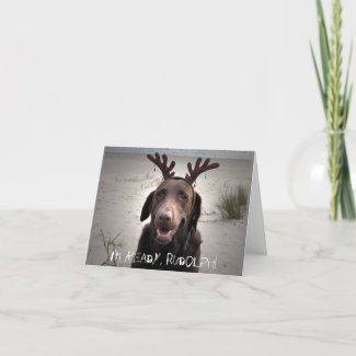 I'm ready, Rudolph! card