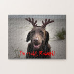 I'm ready, Rudolph! Jigsaw Puzzle