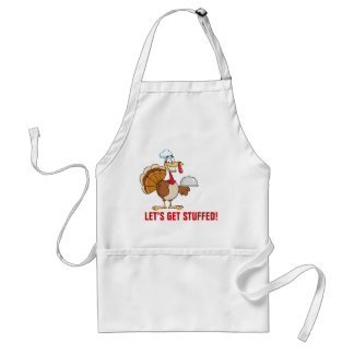 I'm Ready to Eat Thanksgiving Dinner Adult Apron