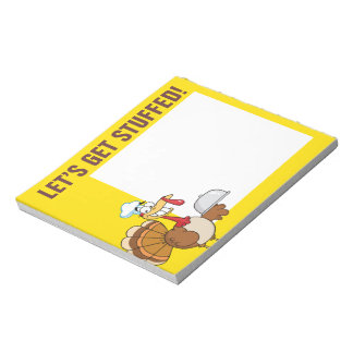I'm Ready to Eat Thanksgiving Dinner Notepad
