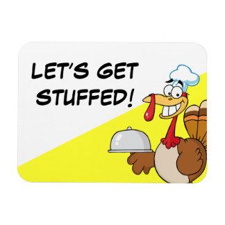 I'm Ready to Eat Thanksgiving Dinner Rectangular Photo Magnet