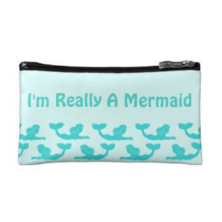 I'm Really A Mermaid Cosmetic Accessory Bag