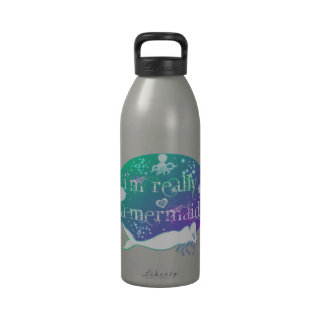 I'm really a mermaid products drinking bottle