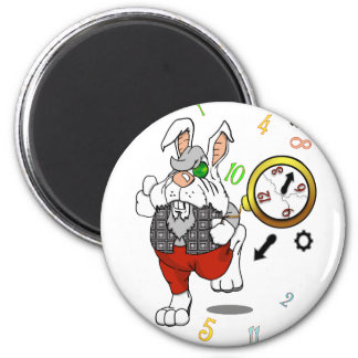 I'm Really Really Late 2 Inch Round Magnet