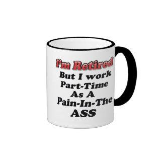 I'm Retired Coffee Mugs