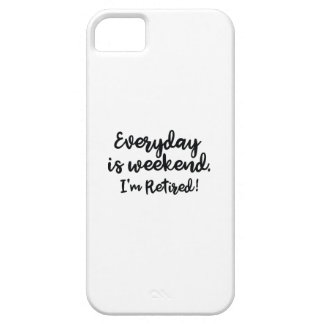 I'm Retired! iPhone SE/5/5s Case