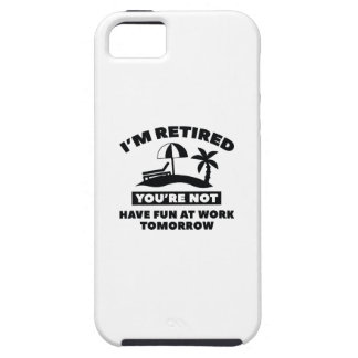 I'm Retired iPhone SE/5/5s Case