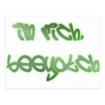 I'm Rich, Beeyotch! Postcards