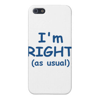 I'm Right Case For iPhone SE/5/5s