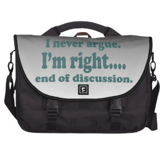 I'm Right Laptop Bags
