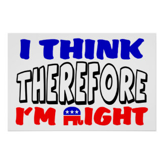 I'm Right! Poster