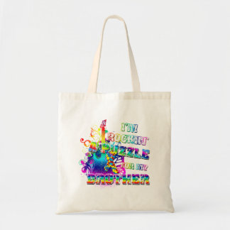 I'm Rockin' A Puzzle For My Brother Budget Tote Bag