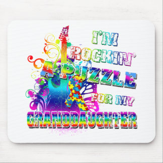 I'm Rockin' A Puzzle For My Granddaughter Mouse Pad
