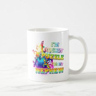 I'm Rockin' A Puzzle for my Nephew Coffee Mug