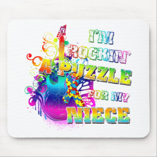 I'm Rockin' A Puzzle for my Niece.png Mouse Pad