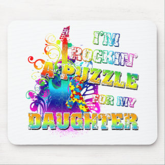 I'm Rocking A Puzzle for my Daughter Mouse Pad