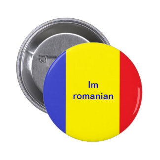 Im Romanian Pinback Button