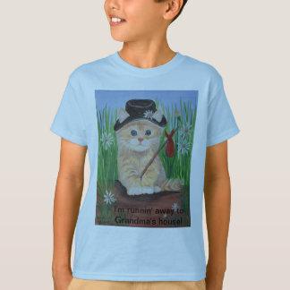 I'm runnin' away to Grandma's house! T-Shirt