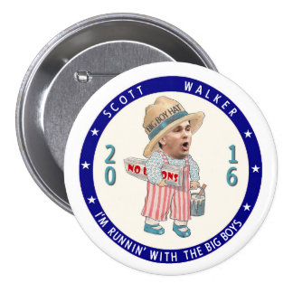 I'm runnin' with the big boys! 3 inch round button