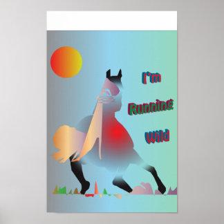 I'm Running Wild. Poster