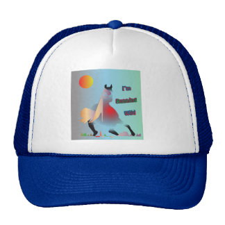 I'm Running Wild Trucker Hat