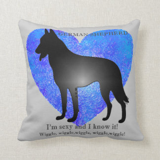 I'm S3xy and I know it! Throw Pillow