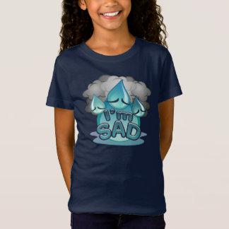 I'm Sad Girls navy T-shirt