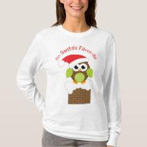 I'm Santa's Favorite Owl T-Shirt