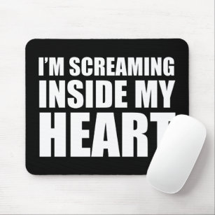 Screaming Mouse Pads   Zazzle