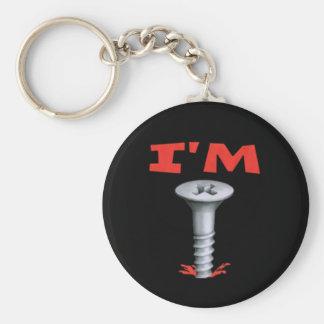 I'M Screwed Key Chain