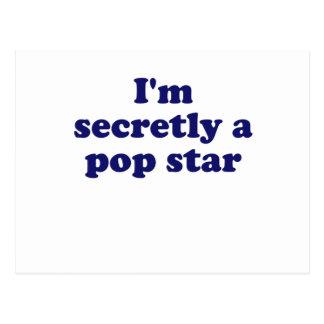 Im secretamente un estrella del pop postal