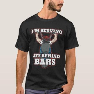 I'm Serving Life Behind Bars Bikers T-Shirt