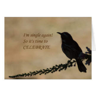 I'm Single Again - party invitation
