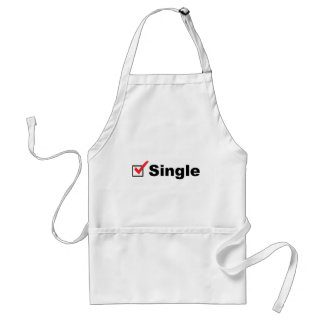 I'm Single And Available Adult Apron