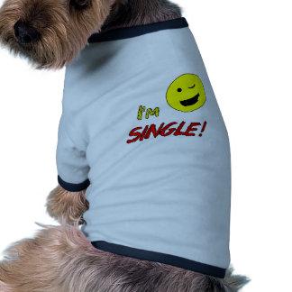 I'm Single Pet Tshirt