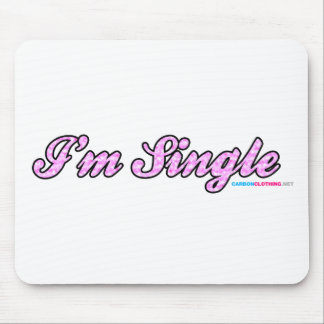 Im Single Pink Mouse Pad