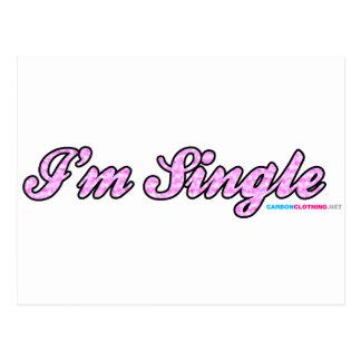 Im Single Pink Postcard