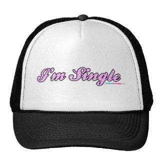 Im Single Pink Trucker Hat